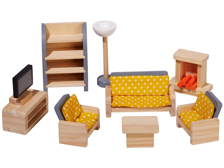 PLAYTIVE® JUNIOR mebelki doll's house furniture